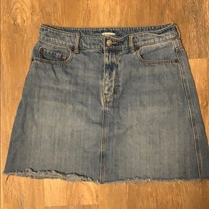 Old Navy high waisted Denim Skirt